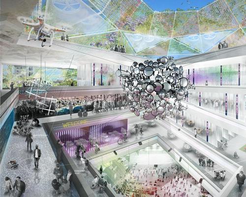 Indoor leisure zones feature in the masterplan / Open Shore