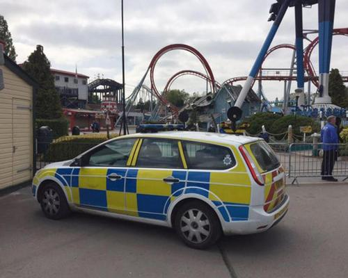 Girl dies after falling from water ride at Drayton Manor Park