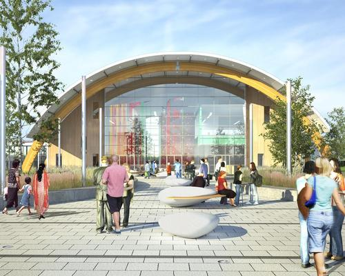 Slough Ice Arena is expected to open in December 2017