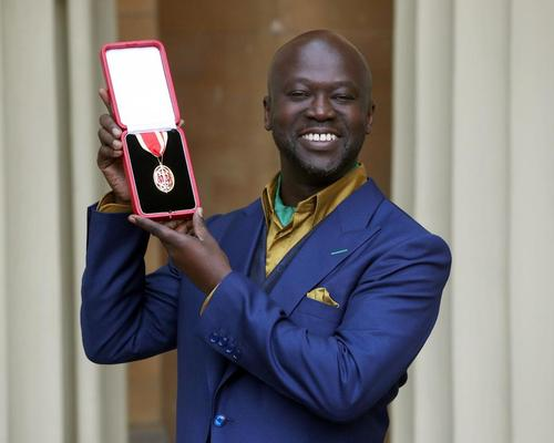 Adjaye said he was 'honoured and humbled' to receive the knighthood, and pledged to be a cultural ambassador for the UK / Jonathan Brady/PA Wire/PA Images