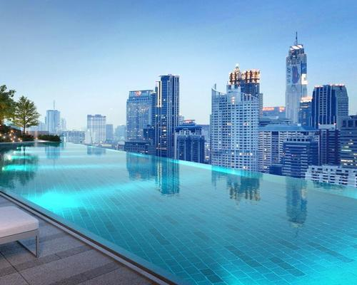 An infinity pool is among the leisure amenities / Business Wire
