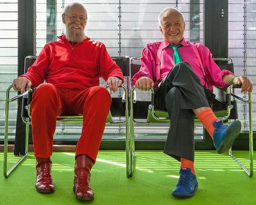 Mike Davies and Richard Rogers – two of the architects behind the Pompidou Centre / Paul McLaughlin