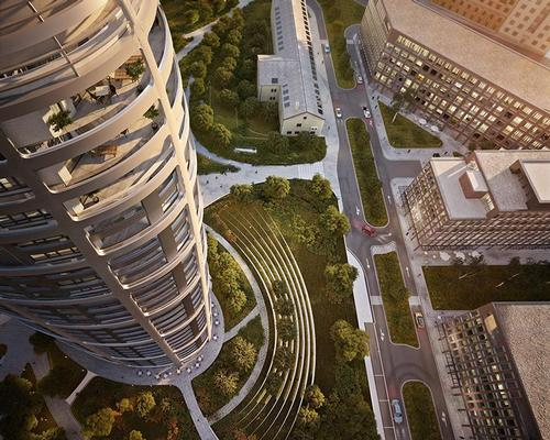 Zaha Hadid Architects unveil bold Sky Park masterplan to reinvent Bratislava's industrial zone