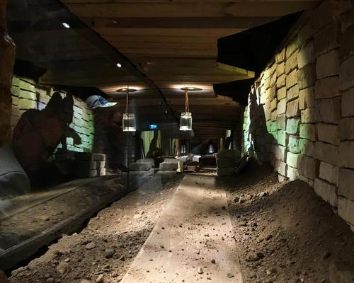 Carl August Lorentzen escaped the prison on 24 December 1949 after digging an 18-metre-long (60 foot) tunnel / Kvorning Design