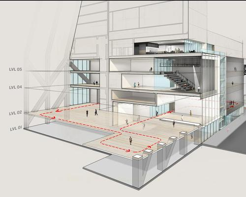 The larger, long-term expansion programme will increase MoMA's gallery space by a third, to 175,000sq ft / DS+R
