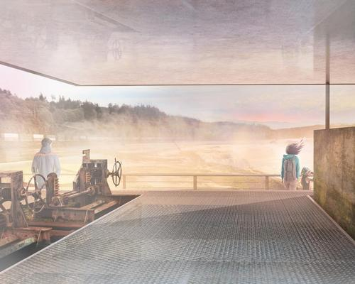 The riverwalk will begin at the entrance to Oregon City's historic downtown and end at the crest of the falls