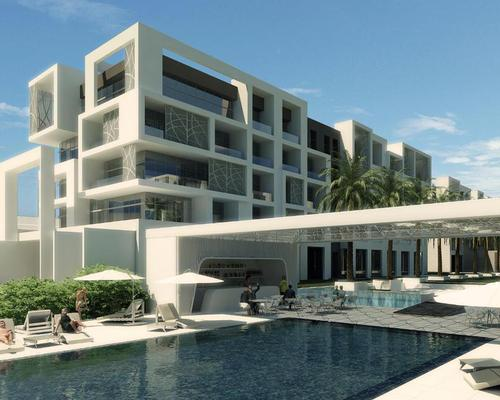 Set to open in October 2017, the 310-bedroom Kempinski Muscat will be nestled within the community of Al Mouj