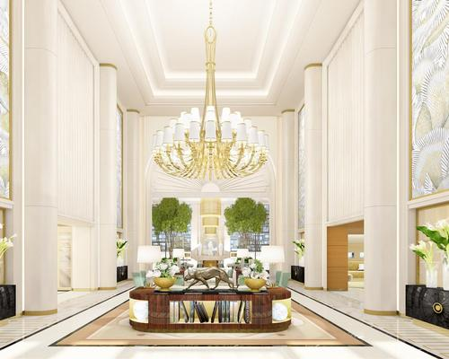 Designers PYR have interpreted Hollywood glamour and the Streamline Moderne style of the 1930s and 40s / Waldorf Astoria
