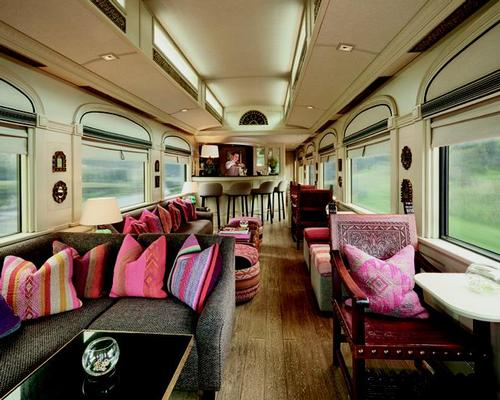 Carrying up to 48 passengers, the Explorer is formed of 16 carriages from the former Great South Pacific Express train / Muza Lab