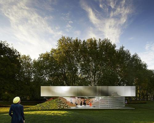 MPavilion 2017 'brings to life a flexible space that can function as a stage, tribune or even playground' / MPavilion