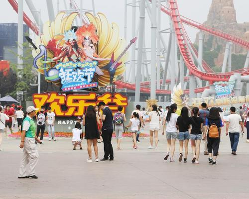 A total of 27 restrictions have been removed from the country's negative list for foreign investment in these areas, including large theme park projects / shutterstock.com