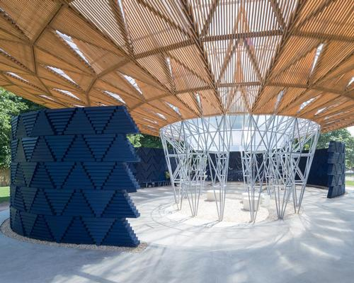 AECOM worked with Francis Kere on the pavilion, their fifth in a row for the Serpentine Galleries  / Iwan Baan