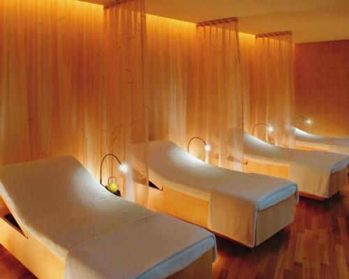Mandarin Oriental's Washington Spa has eight treatment rooms and a range of relaxation areas (pictured)