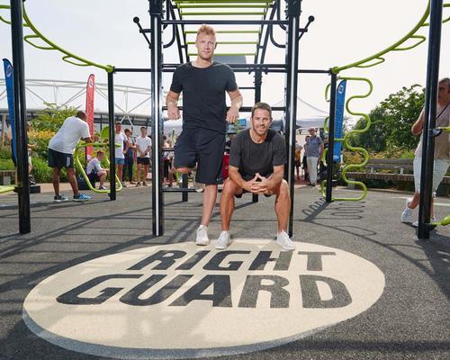 TGO creates gym equipment from Right Guard aerosols