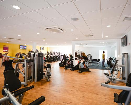 The gym has 40 fitness stations