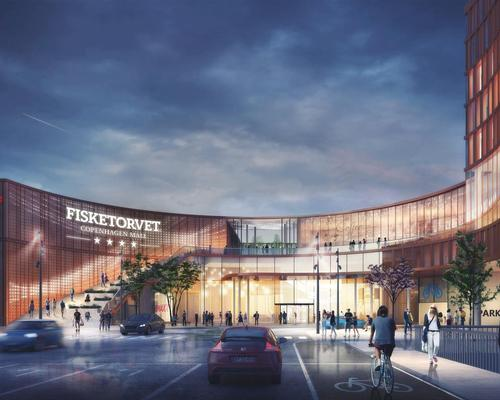 The architects will update the 17-year old shopping centre into 'a welcoming urban locality fitting for one of the world's most liveable cities' / Schmidt Hammer Lassen
