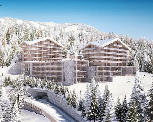 The resort located in the prominent ski areas of Valais, two hours from Geneva