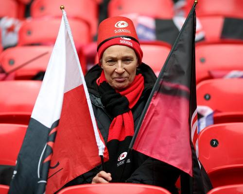 Saracens fans enjoyed the team playing at Wembley Stadium several times over the past few years / Steve Paston/PA Archive/PA Images