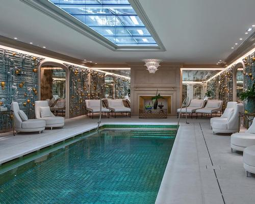 A new signature swimming pool has been built as part of the redevelopment
