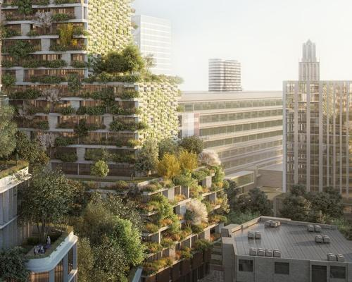Stefano Boeri to revitalise Utrecht with another 'Vertical Forest' project