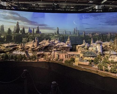 "Attendees will be able to see the model inside the ""A Galaxy of Stories"" pavilion at the centre of the expo / Disney Parks"