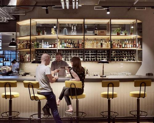 Studio RHE merge restaurant with co-working space at London's placemaking Palatino