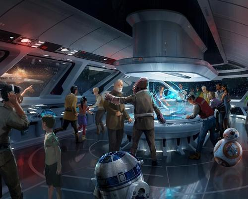 A Star Wars resort will be 100 per cent immersive, with guests even wearing Star Wars attire