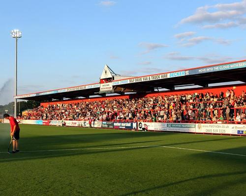 Stevenage FC asks fans to invest as it plots new stand