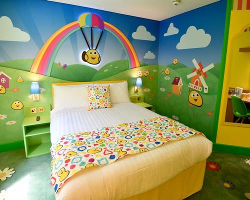 Rooms are designed with young children in mind