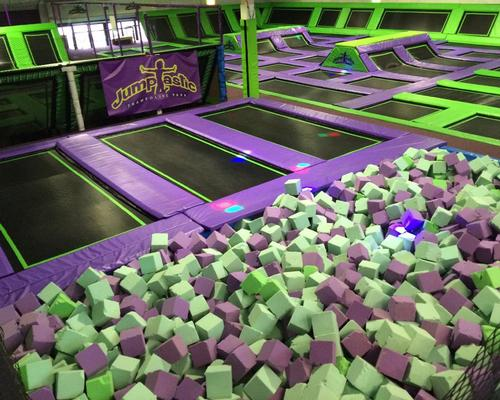 Trampoline park wins service and safety awards