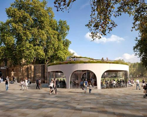 The Cadogan Café will be located in the largely Grade II-listed Duke of York Square, adjacent to the main thoroughfare to the Saatchi Gallery / Cadogan