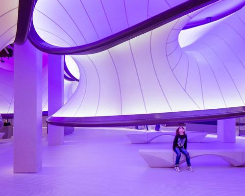 Mathematics: The Winton Gallery, London, Zaha Hadid Architects / INSIDE