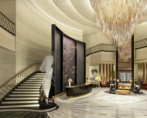 The 157-bedroom Ritz-Carlton Astana is located within the Talan Towers, which was designed by US architects Skidmore, Owings & Merrill