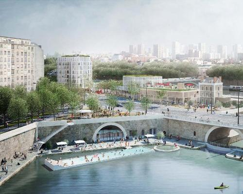 A swimming pool and a water-quality testing pool will be built within the river as a response to government plans to make the Seine swimmable / SO – IL and Lisne Roussel