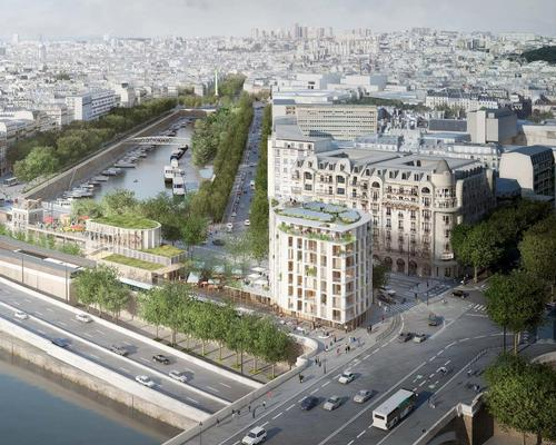 Their flexible urban strategy, called 'L' Atelier de l' Arsenal', will retain the historic fabric of the 60,000sq ft (5,590sq m) site / SO – IL and Lisne Roussel