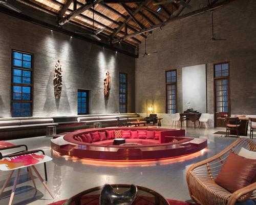 Interior designs by Ju Bin incorporate elements of the original sugar mill