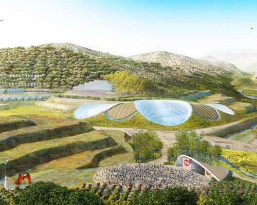 A planned Eden Project in Ya'n'an will explore the theme of land and soil and its importance for life on earth / Eden Project