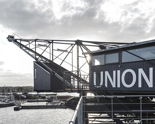 Copenhagen coal crane becomes unlikely home for elegant new spa