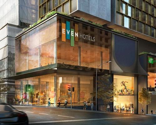The 200-bedroom Even Hotel Auckland will open in 2020