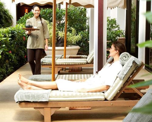 The Polynesian-inspired SpaHalekulani is located at the independently owned Halekulani luxury resort