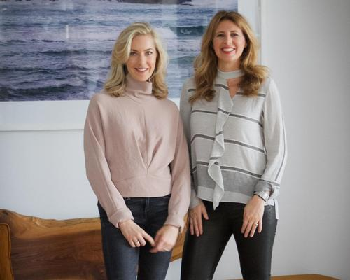 Alexia Brue (left) and Melisse Gelula founded Well+Good in 2010