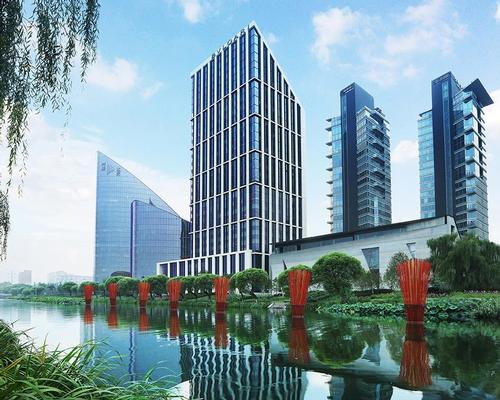 The 119-bedroom Bulgari Hotel Beijing will be located within the mixed-use Genesis complex in the heart of Beijing's Embassy District