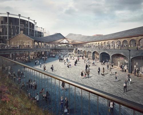 Two disused Victorian coal drop buildings at King's Cross railway station are being transformed into 100,000sq m (1m sq ft) of culture and leisure space / Heatherwick Studio