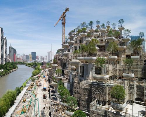 Heatherwick Studio are creating a mountain-inspired district in Moganshan, Shanghai, called 1000 Trees / Noah Sheldon