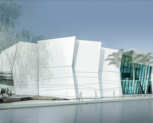 The A$50m (US$39.6m, €33.7m, £30.7m) Cairns Aquarium is set to open in September 2017 / Peddle Thorp Architects