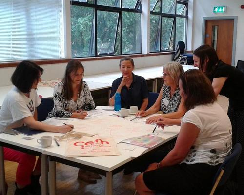 Participants on our first intermediate course for Health & Wellbeing last month / GEM