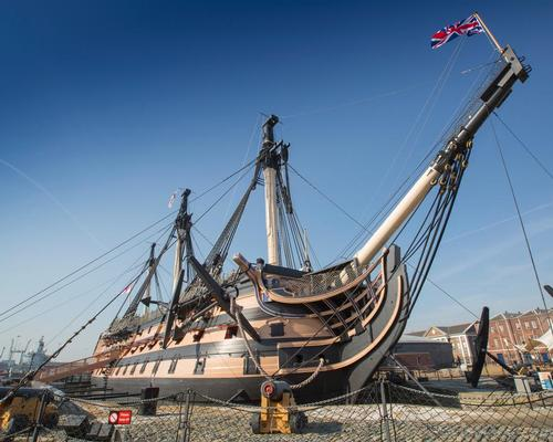 Engineering work starts on HMS Victory to preserve warship and prevent collapse