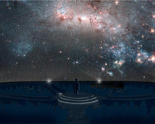 The renamed Zeidler Dome Theatre, formerly the  Margaret Zeidler Star Theatre planetarium, will include a projector and screens capable of 10K resolution,
