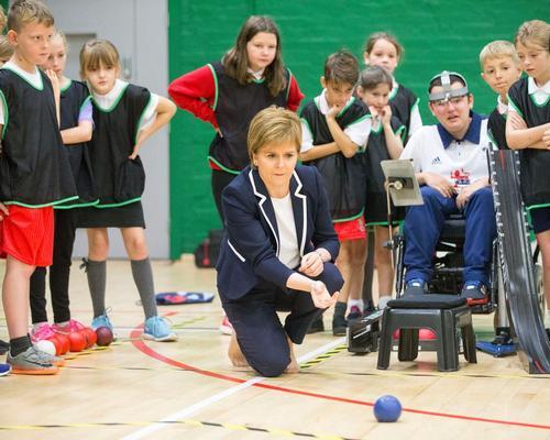 Nicola Sturgeon opens £12m National Sports Training Centre for Scotland