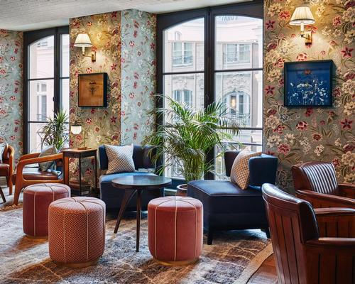 The building, originally designed by architect Nicolas d'Orbay for diplomat Etienne Rivié, has sat empty for over a decade / The Hoxton, Paris